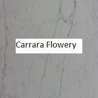Carrara Flowery Swatch