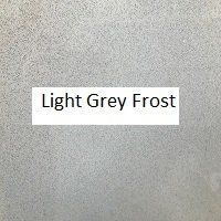 Light Grey Frost Swatch
