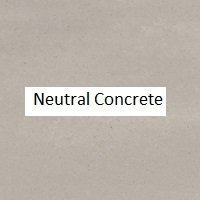 Neutral Concrete