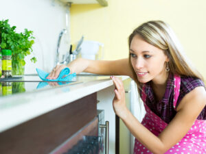 tips to keep kitchen countertops clean